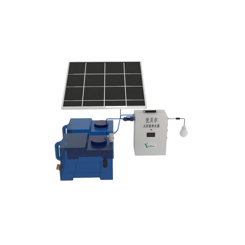 太阳能户外净水器军队消防野外作业净水器